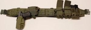 My ATS War Belt in OD green.