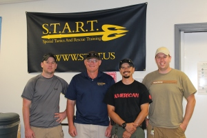 Frank Hoagland (second from Left) Founder and CEO of S.T.A.R.T.